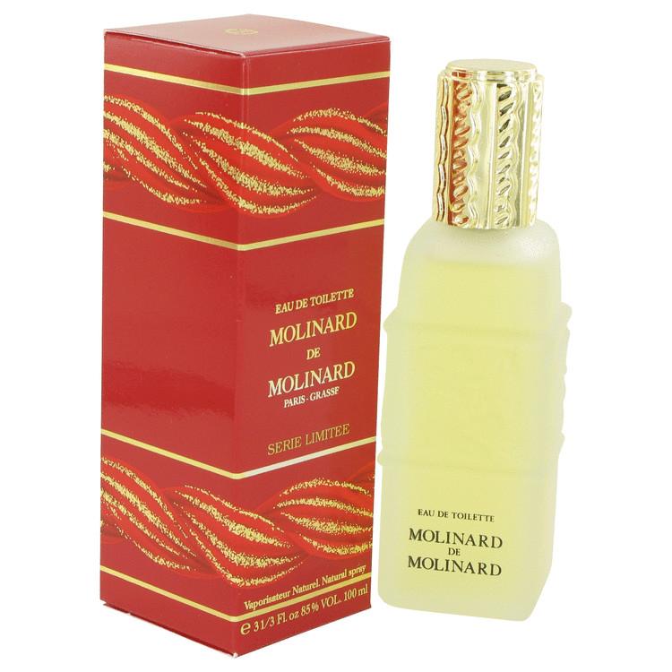 MOLINARD DE MOLINARD by Molinard for Women Eau De Toilette Spray 3.4 oz