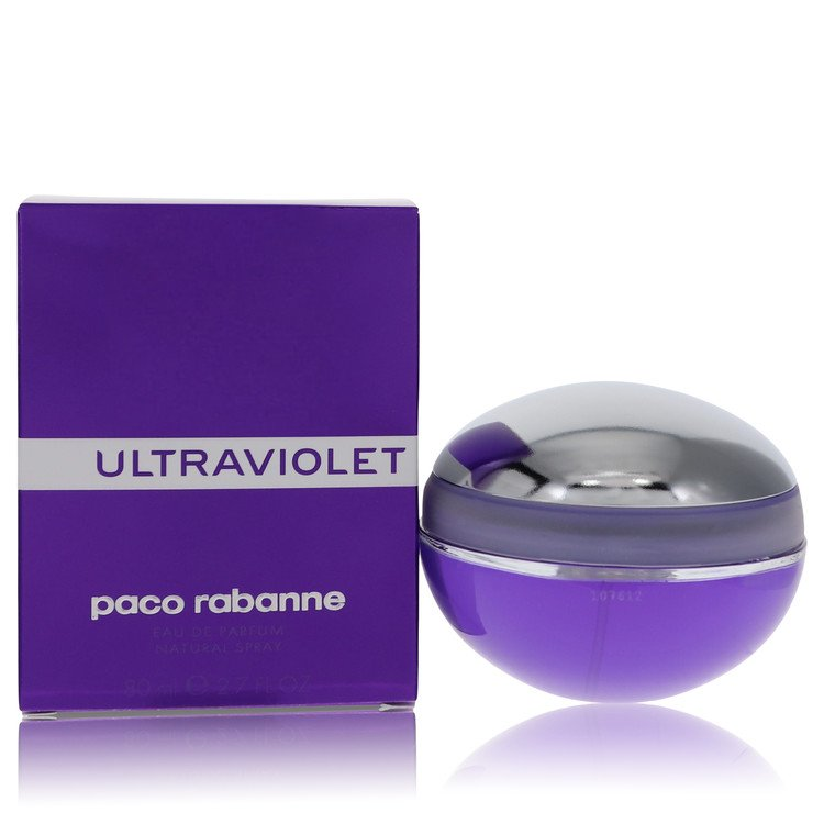 Ultraviolet Eau De Parfum Spray By Paco Rabanne 80ml