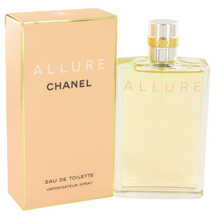 ALLURE by Chanel for Women Eau De Toilette Spray 3.4 oz