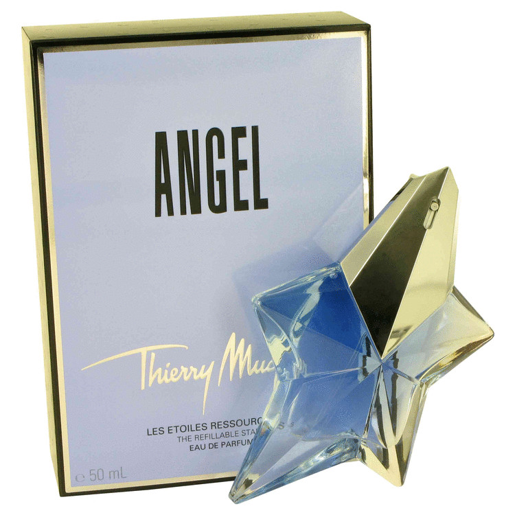 Angel Eau De Parfum Spray Refillable By Thierry Mugler 1.7oz