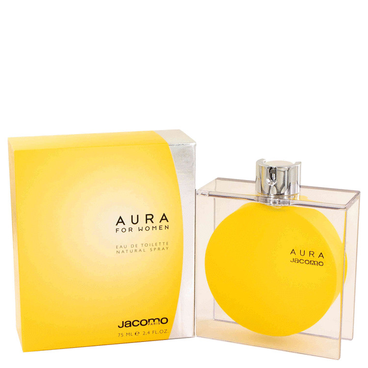 Aura Eau De Toilette Spray By Jacomo 2.4oz