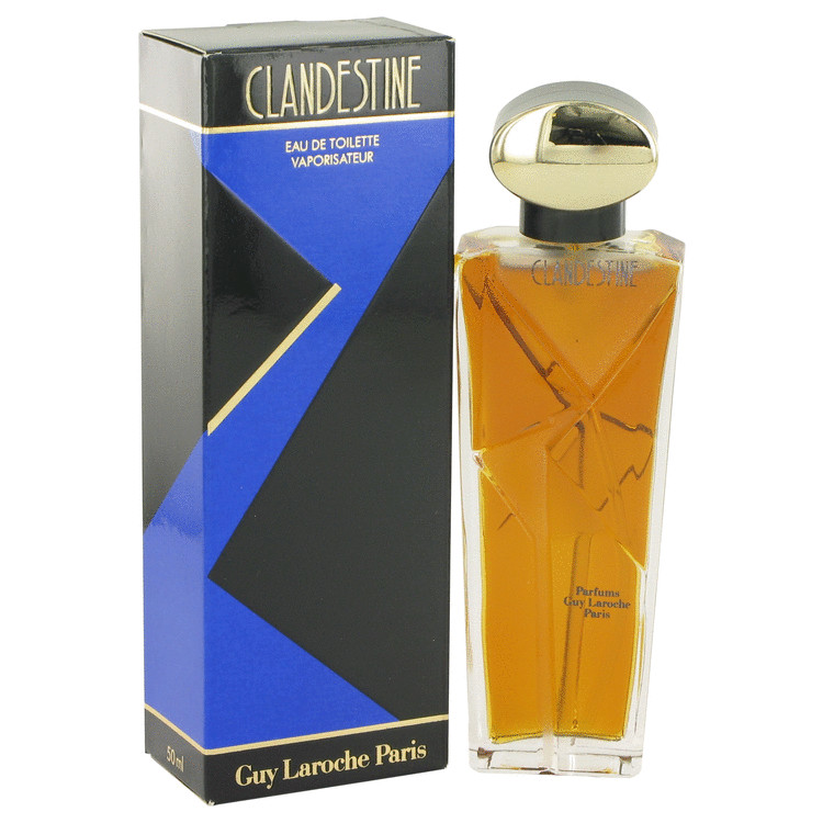 CLANDESTINE by Guy Laroche for Women Eau De Toilette Spray 1.7 oz