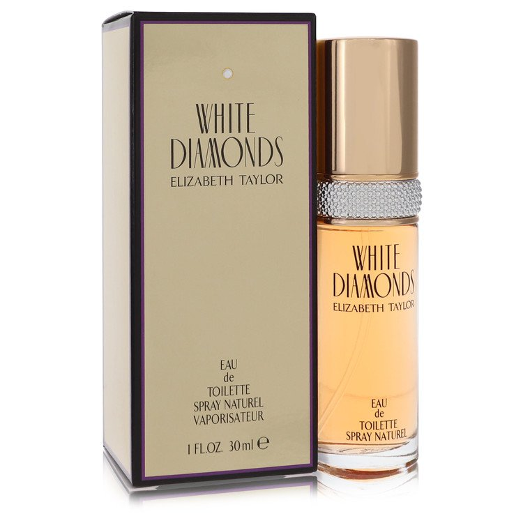White Diamonds Eau De Toilette Spray By Elizabeth Taylor 30ml