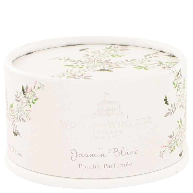 White Jasmine by Woods of Windsor for Women Dusting Powder 3.5 oz