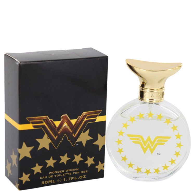 Wonder Woman Eau De Toilette Spray (Red Box) By Marmol and Son 50ml
