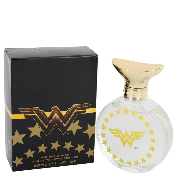 Wonder Woman Eau De Toilette Spray (Black box) By Marmol and Son 50ml