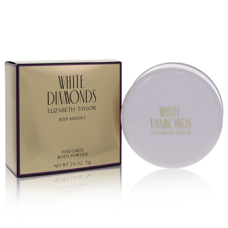 White Diamonds Dusting Powder By Elizabeth Taylor 77ml