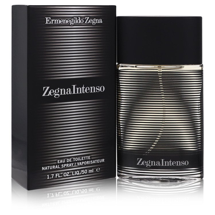 Zegna Intenso Eau De Toilette Spray By Ermenegildo Zegna 50ml