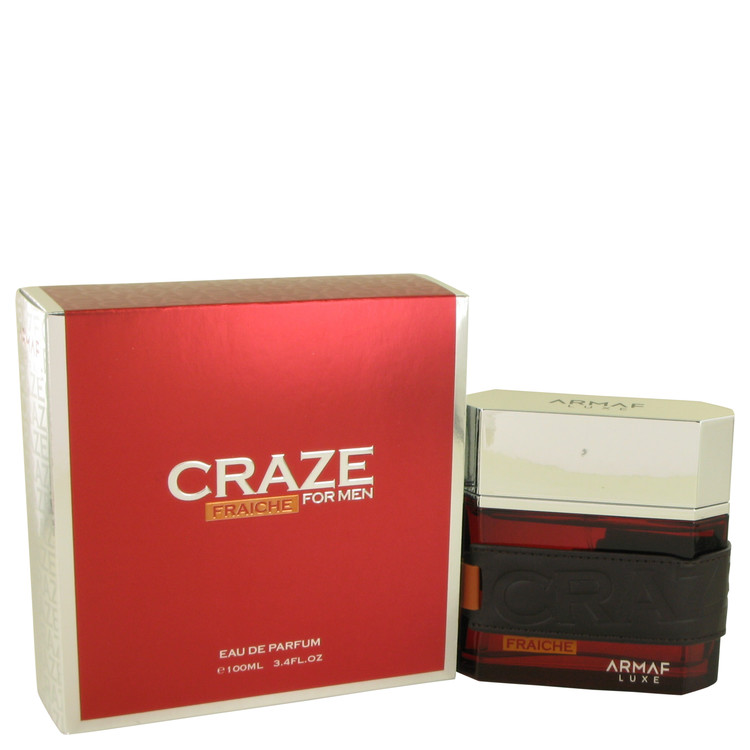 Armaf Craze Fraiche by Armaf for Men Eau De Parfum Spray 3.4 oz