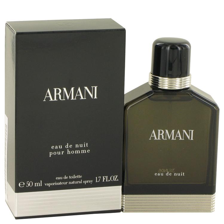 Armani Eau De Nuit by Giorgio Armani for Men Eau De Toilette Spray 1.7 oz