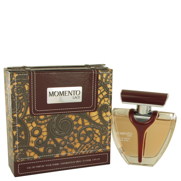 Armaf Momento Lace by Armaf for Women Eau DE Parfum Spray 3.4 oz