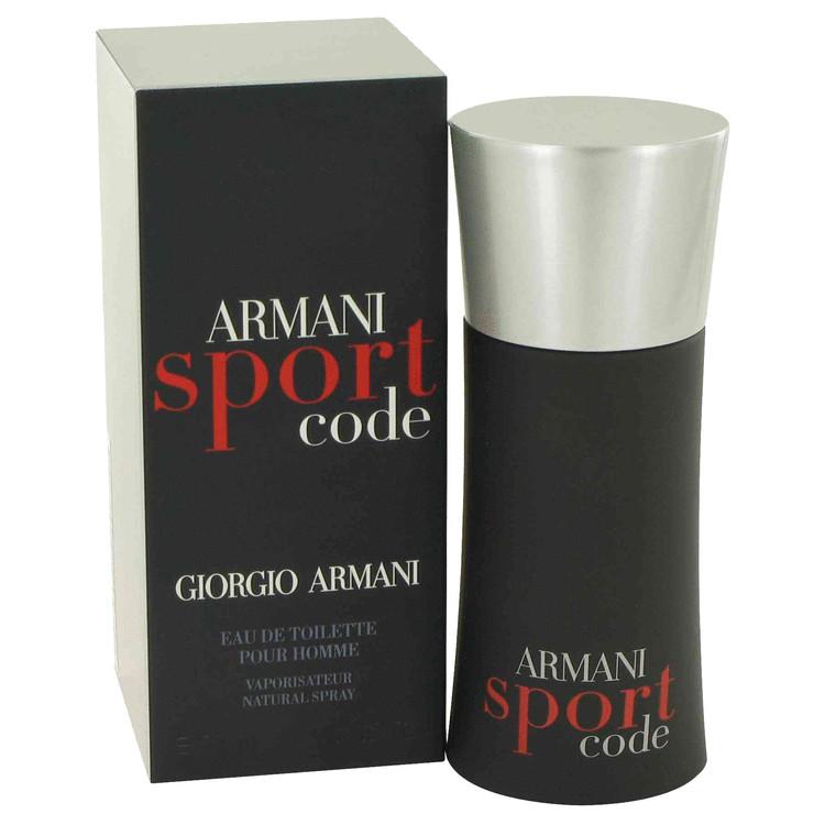 Armani Code Sport by Giorgio Armani for Men Eau De Toilette Spray 1.7 oz