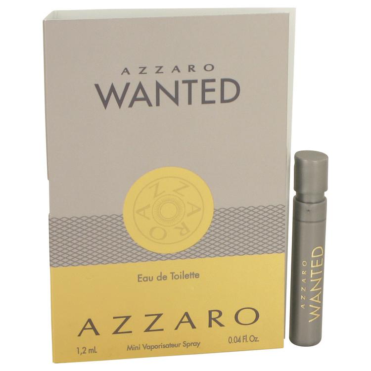 Azzaro Wanted by Lorris Azzaro for Men Vial (Sample) .04 oz