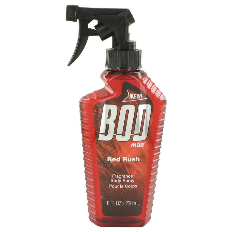 Bod Man Red Rush by Parfums De Coeur for Men Body Spray 8 oz
