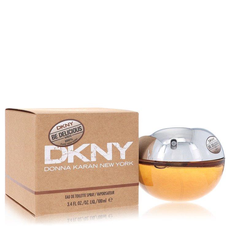 Be Delicious by Donna Karan for Men Eau De Toilette Spray 3.4 oz
