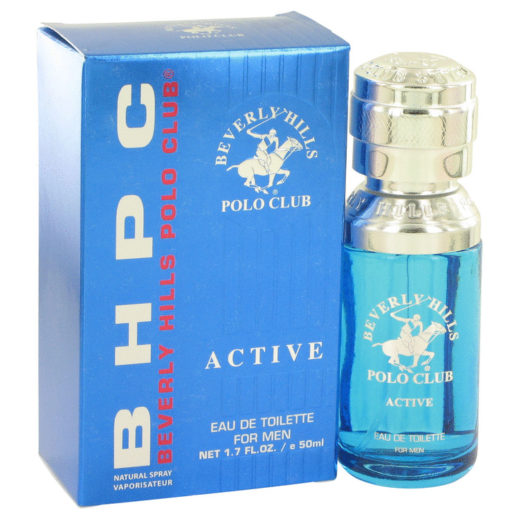 BEVERLY HILLS POLO Club Active by Beverly Fragrances for Men Eau De Toilette Spray 1.7 oz