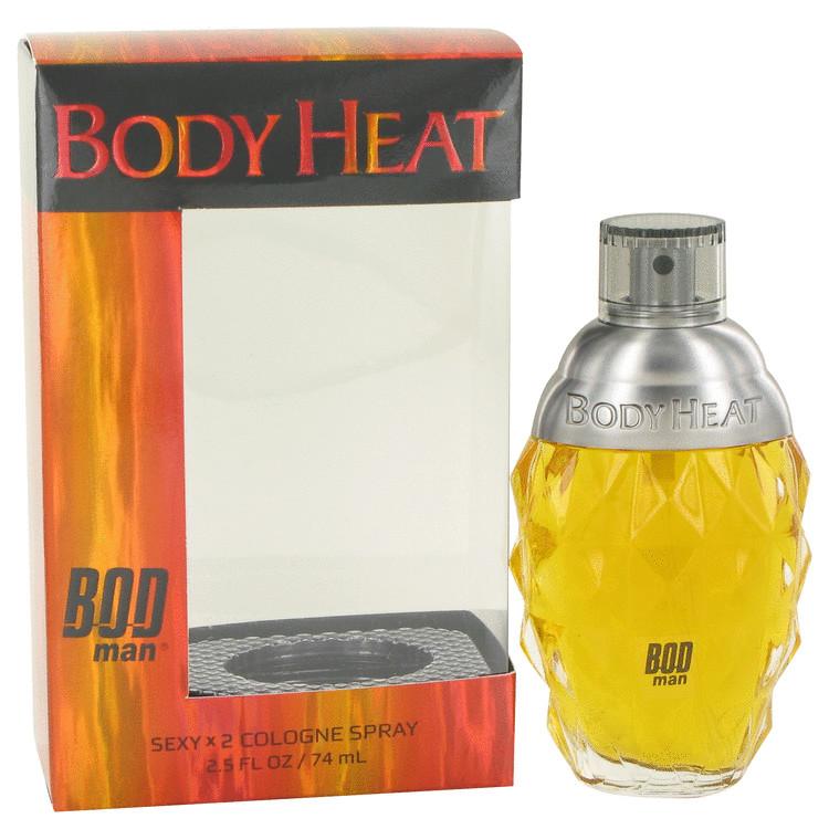 Bod Man Body Heat Sexy X2 by Parfums De Coeur for Men Cologne Spray 2.5 oz
