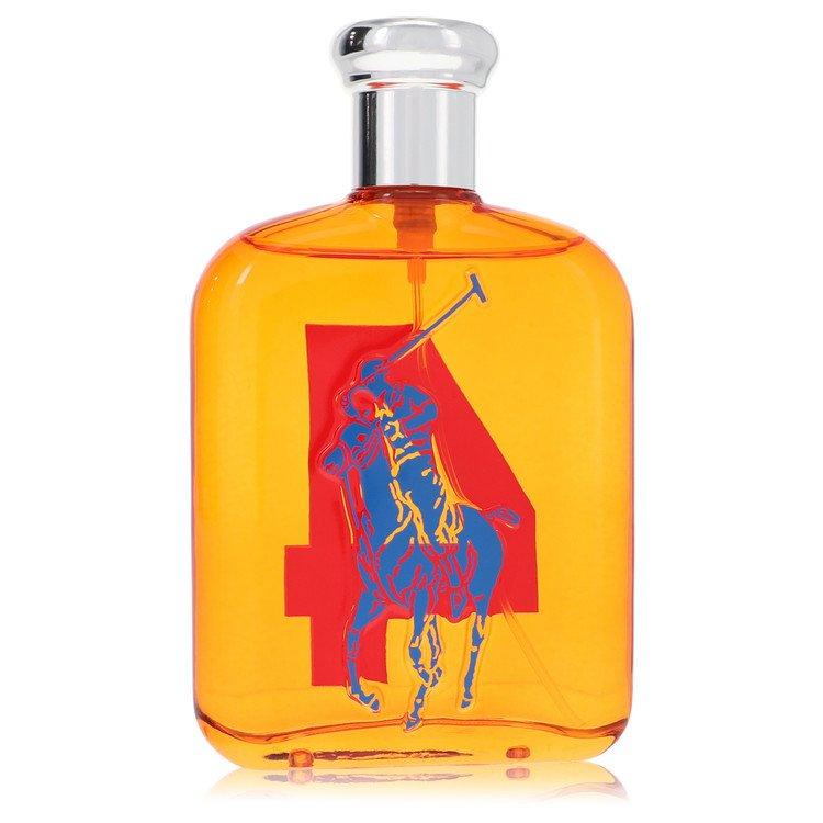 Big Pony Orange by Ralph Lauren for Men Eau De Toilette Spray (Tester) 4.2 oz