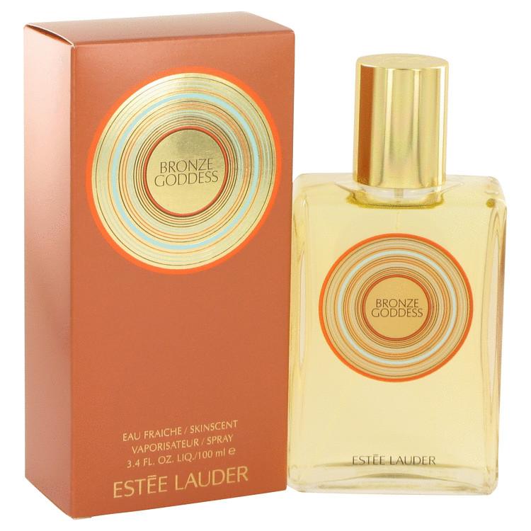 Bronze Goddess by Estee Lauder for Women Eau Fraiche Skinscent Spray (New Packaging) 3.4 oz