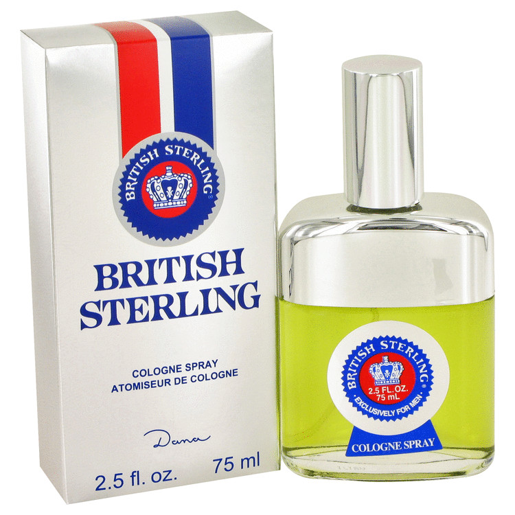 BRITISH STERLING by Dana for Men Cologne Spray 2.5 oz