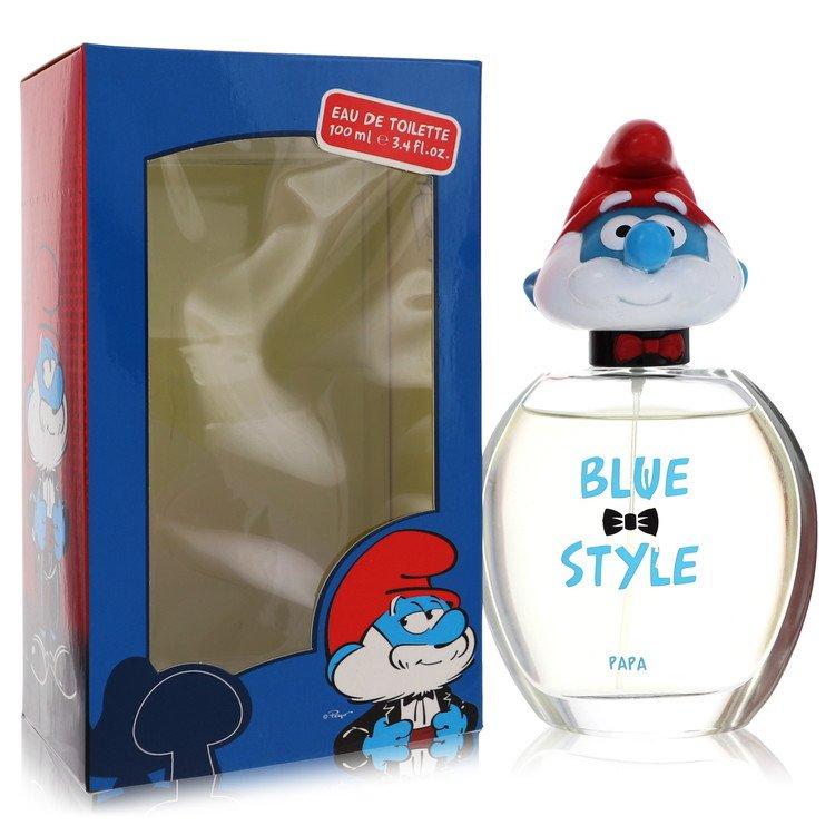 The Smurfs by Smurfs for Men Blue Style Papa Eau De Toilette Spray 3.4 oz