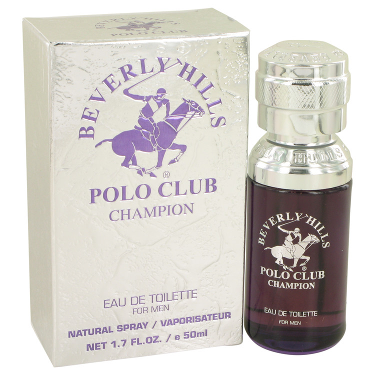 Beverly Hills Polo Club Champion by Beverly Fragrances for Men Eau De Toilette Spray 1.7 oz