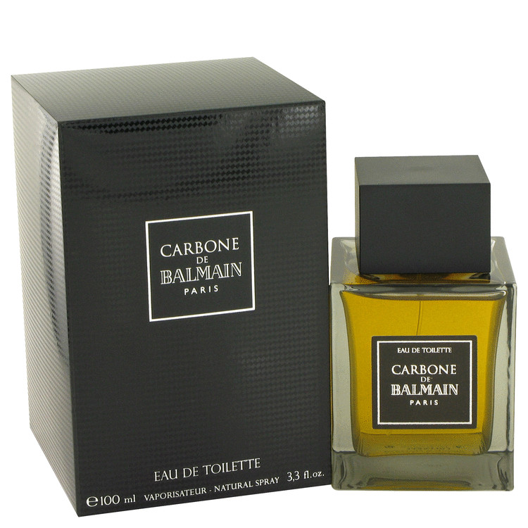 Carbone De Balmain by Pierre Balmain for Men Eau De Toilette Spray 3.3 oz