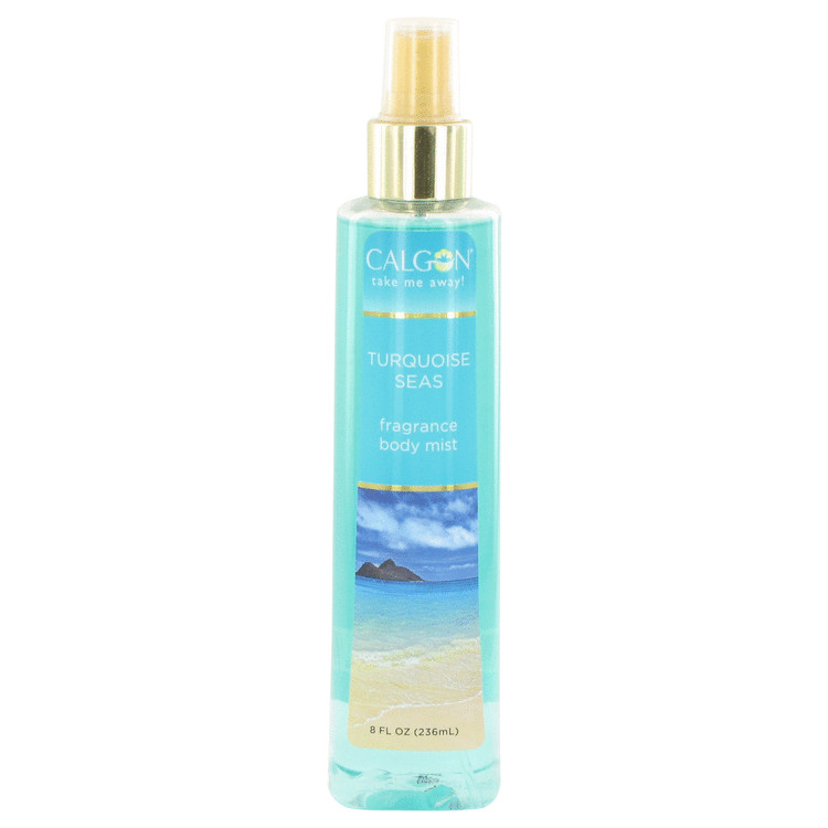 Calgon Take Me Away Turquoise Seas by Calgon for Women Body Mist 8 oz