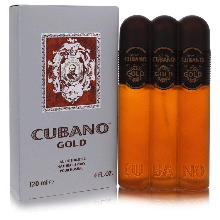 Cubano Gold by Cubano for Men Eau De Toilette Spray 4 oz