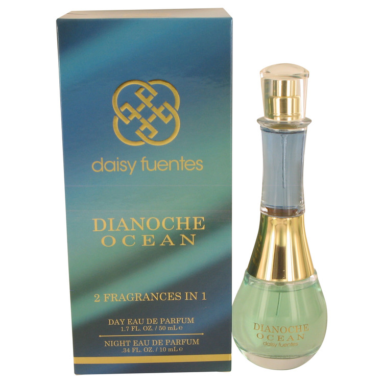 Dianoche Ocean by Daisy Fuentes for Women Includes Two Fragrances Day 1.7 oz and Night .34 oz Eau De Parfum Spray 1.7 oz