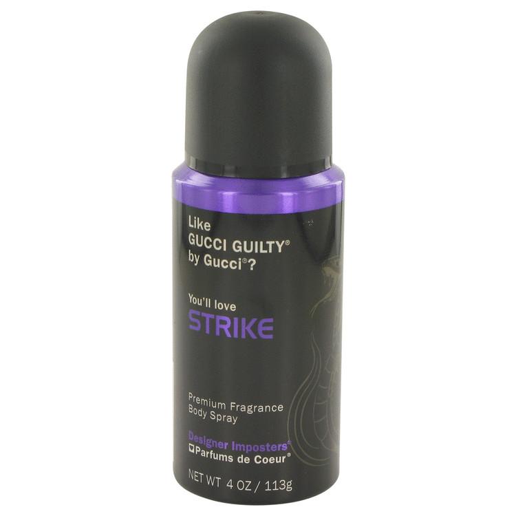 Designer Imposters Strike by Parfums De Coeur for Men Body Spray 4 oz