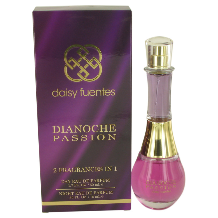 Dianoche Passion by Daisy Fuentes for Women Includes Two Fragrances Day 1.7 oz and Night .34 oz Eau De Parfum Spray 1.7 oz