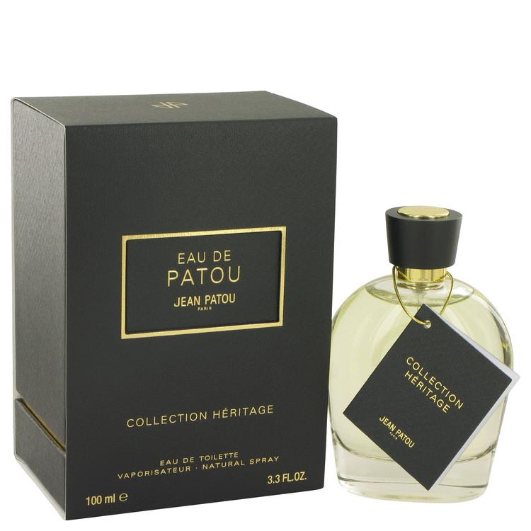 EAU DE PATOU by Jean Patou for Women Eau De Toilette Spray (Heritage Collection) 3.3 oz