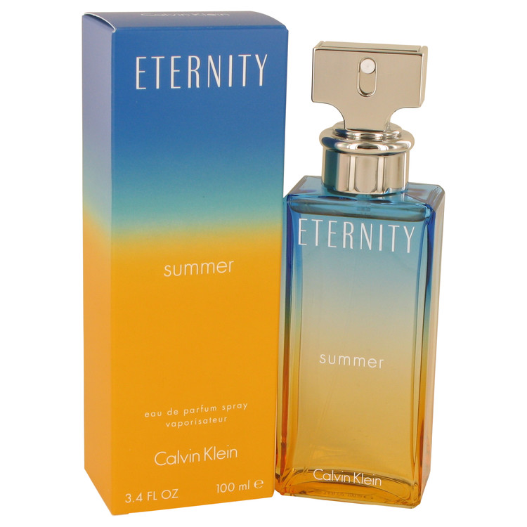 Eternity Summer by Calvin Klein for Women Eau De Parfum Spray (2017) 3.4 oz