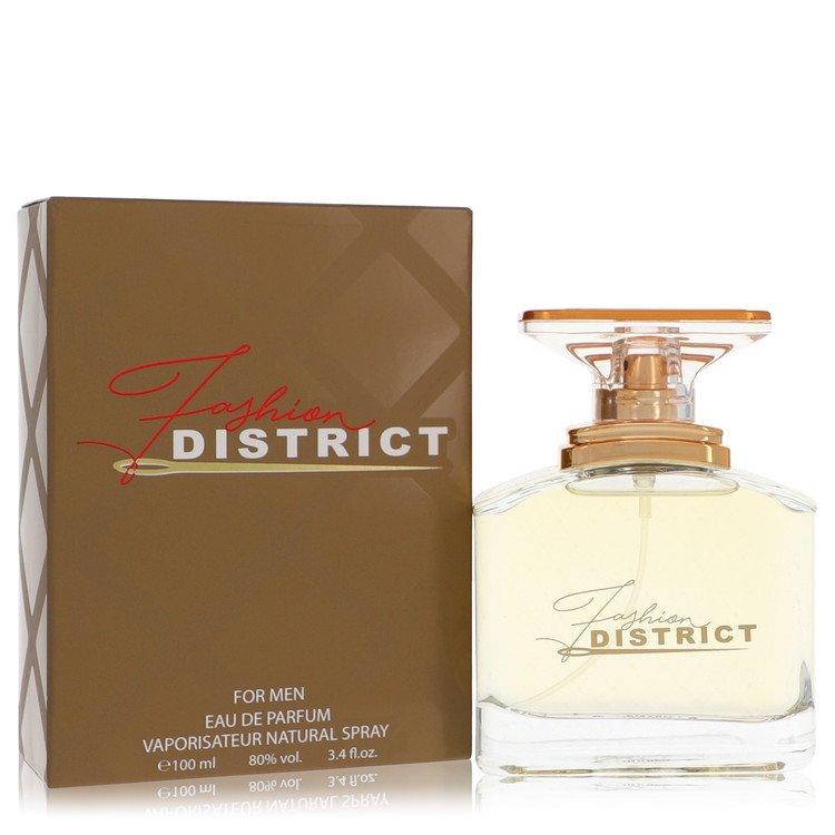 Fashion District by Fashion District for Men Eau De Parfum Spray 3.4 oz