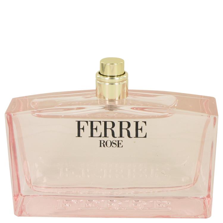 Ferre Rose by Gianfranco Ferre for Women Eau De Toilette Spray (Tester) 3.4 oz
