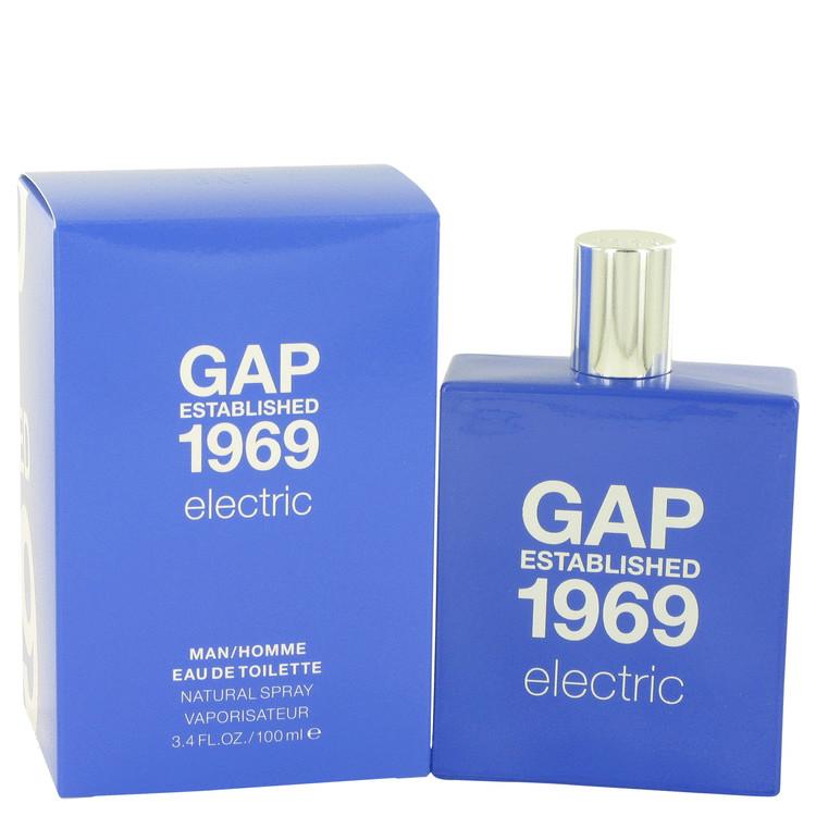 Gap 1969 Electric by Gap for Men Eau De Toilette Spray 3.4 oz