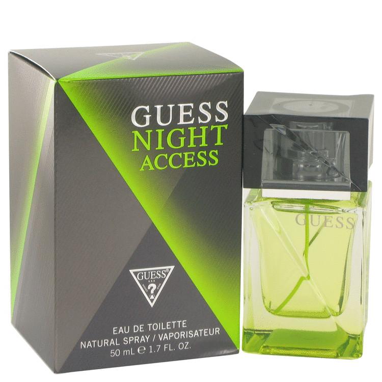 Guess Night Access by Guess for Men Eau De Toilette Spray 1.7 oz