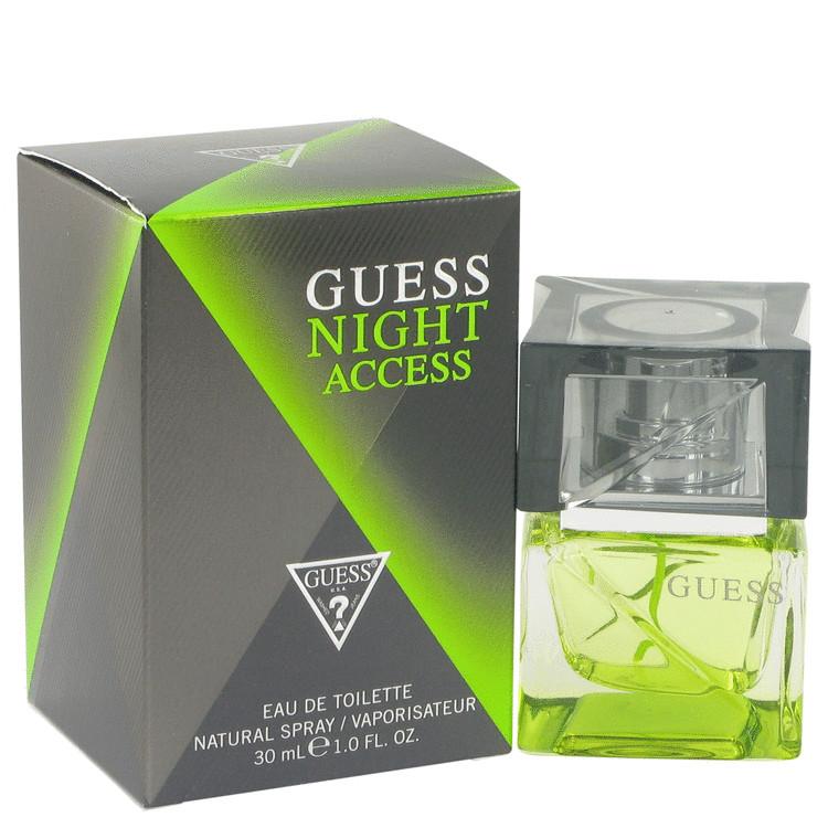 Guess Night Access by Guess for Men Eau De Toilette Spray 1 oz