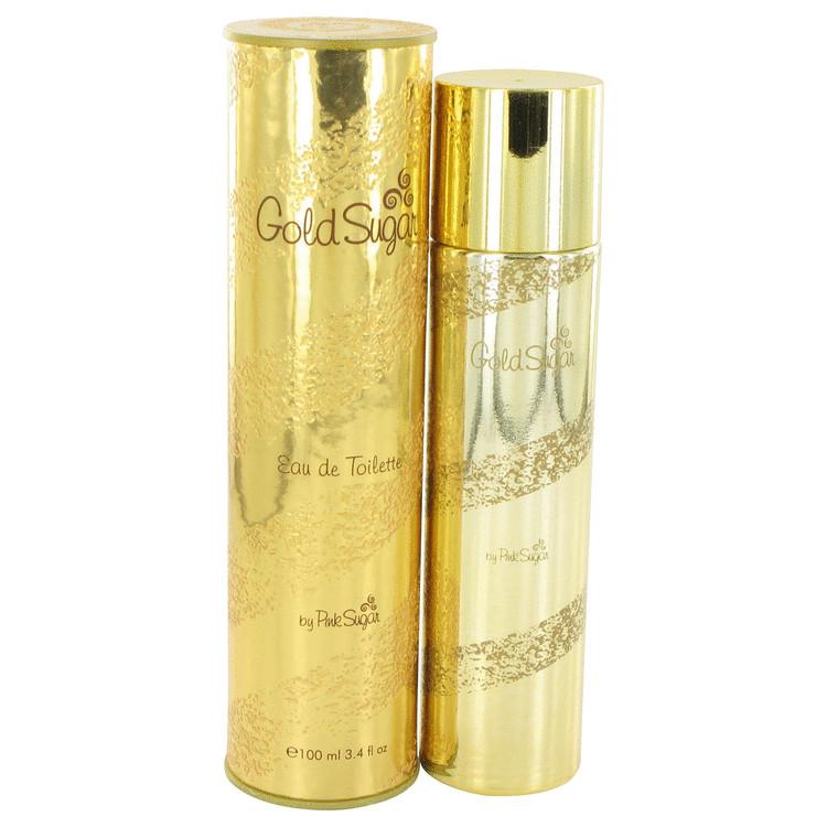 Gold Sugar by Aquolina for Women Eau De Toilette Spray 3.4 oz