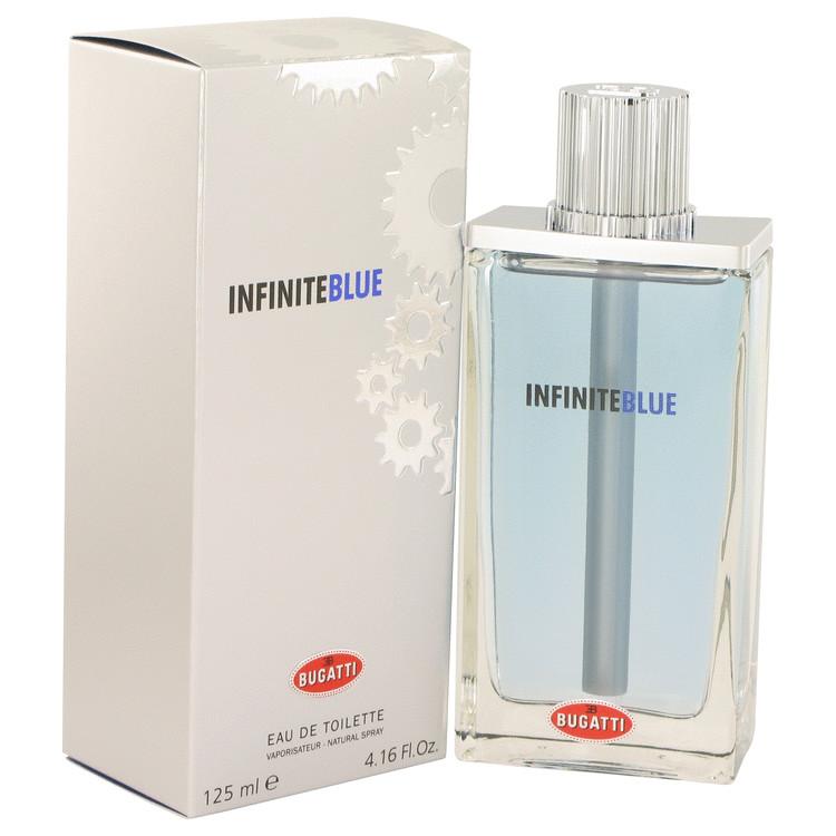 Infinite Blue by Bugatti for Men Eau De Toilette Spray 4.16 oz