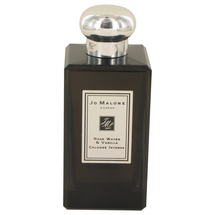 Jo Malone Rose Water & Vanilla by Jo Malone for Men Cologne Intense Spray (Unisex Unboxed) 3.4 oz