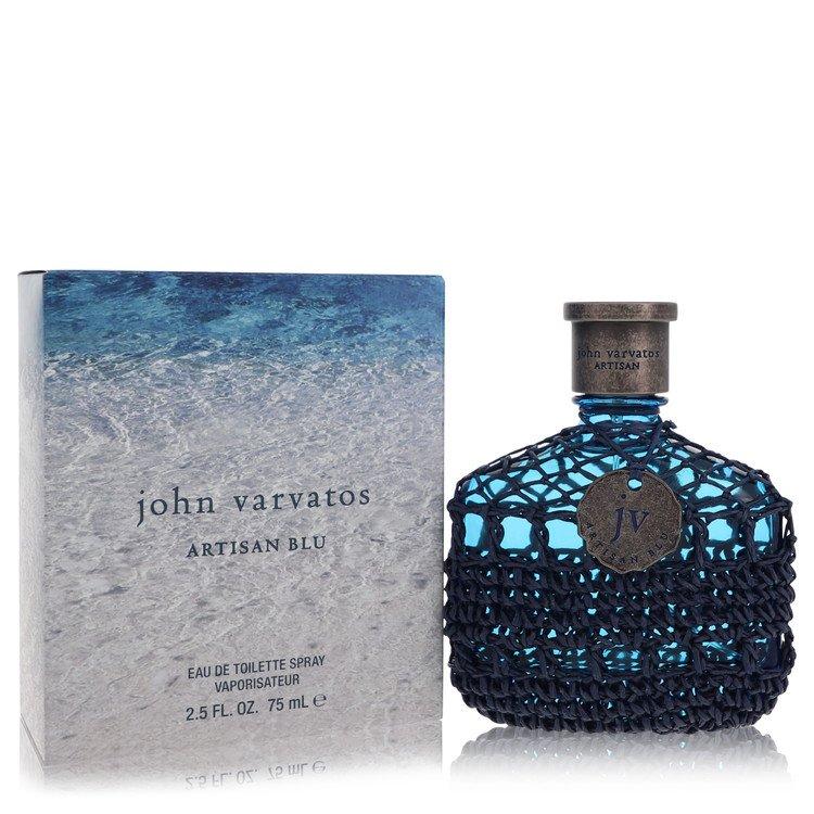 John Varvatos Artisan Blu by John Varvatos for Men Eau De Toilette Spray 2.5 oz