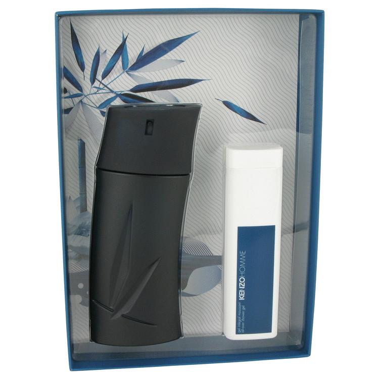 KENZO by Kenzo for Men Gift Set -- 3.4 oz Eau De Toilette Spray + 3.4 oz Shower Gel