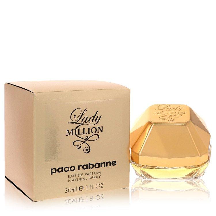 Lady Million by Paco Rabanne for Women Eau De Parfum Spray 1 oz