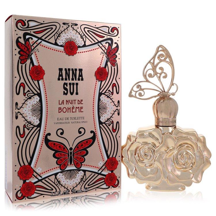 La Nuit De Boheme by Anna Sui for Women Eau De Toilette Spray 2.5 oz