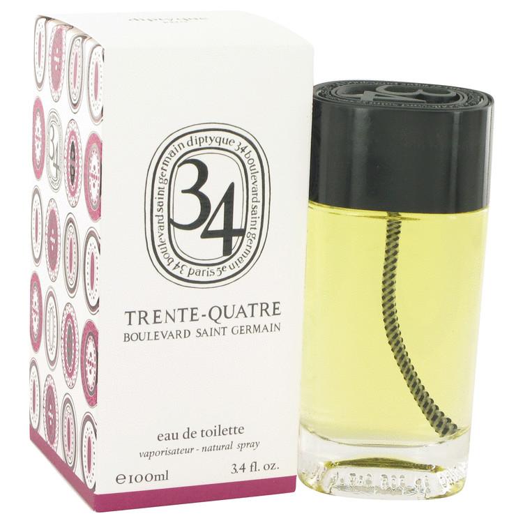34 boulevard saint germain by Diptyque for Women Eau De Toilette Spray (Unisex) 3.4 oz