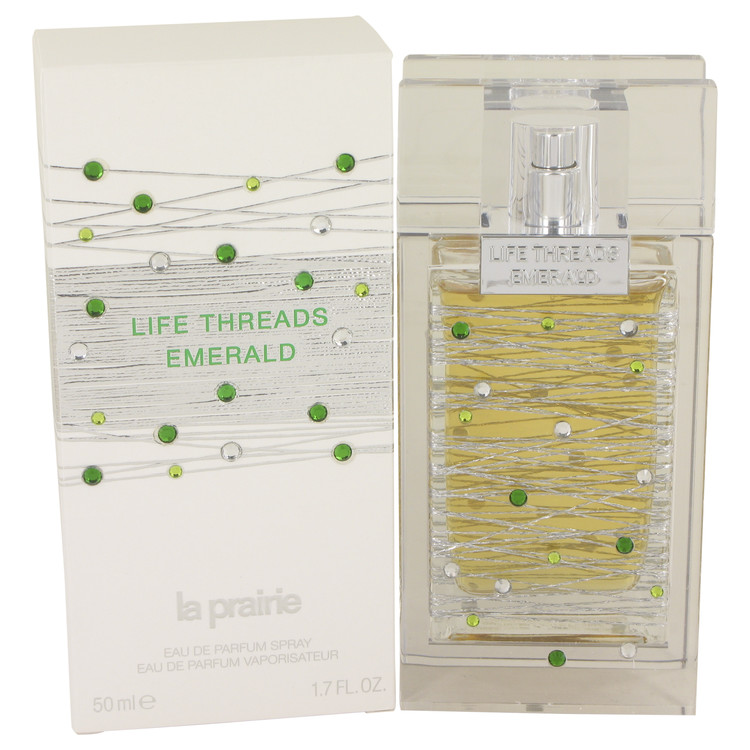 Life Threads Emerald by La Prairie for Women Eau De Parfum Spray 1.7 oz