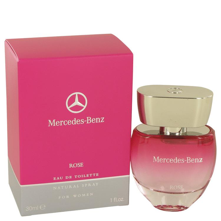 Mercedes Benz Rose by Mercedes Benz for Women Eau De Toilette Spray 1 oz