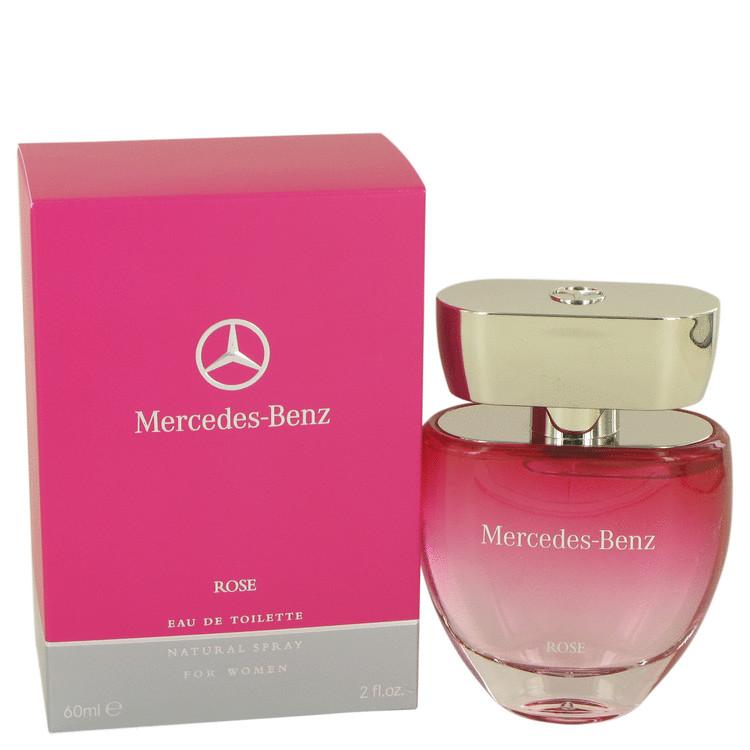 Mercedes Benz Rose by Mercedes Benz for Women Eau De Toilette Spray 2 oz